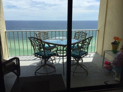 Photo for SUPER July DEAL! -$1800 wkly TOTAL- Gulf Front w/ Amazing View & 2 Beach chairs