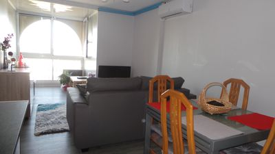 Photo for T2 ideal family or 2 couples Fully equipped, CLIM, oven, Wifi, LV, LL-SL, Pk, etc.