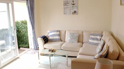 Photo for Comfortable Sidmouth apartment, a minute's walk to the seafront