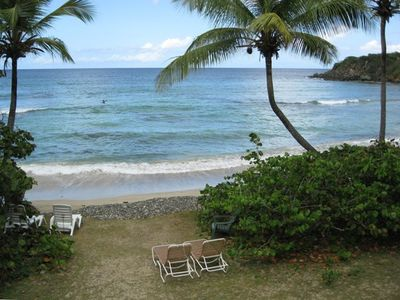 Photo for Beach Front on Secluded Bay (see your video)