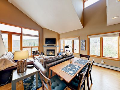 Photo for 2BR Watch Hill Condo w/ Epic Views & Hot Tub—Short Drive to Skiing