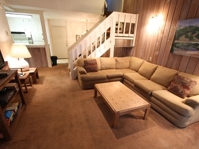 Photo for Pet Friendly, Comfortable, Walk to Eagle Lodge