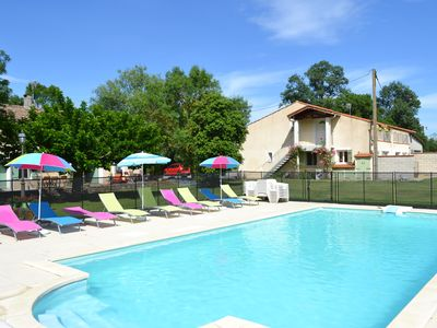 Photo for Gite Terrefort at the Domaine Las Brugues with heated pool near Carcassonne