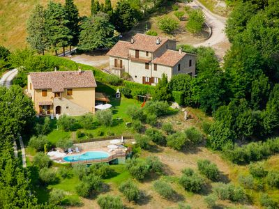 Photo for Cozy apartment in an old farmhouse on an estate near Assisi