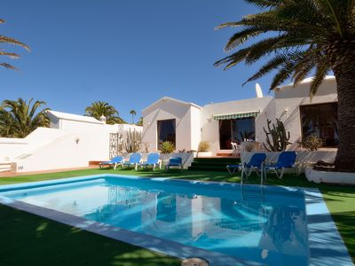 Photo for Villa with Private Pool, Secluded Gardens, Sea View