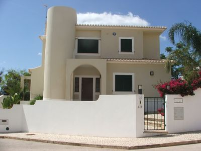 Photo for Modern villa in secluded gardens,12 min walk to beach of Meai Praia