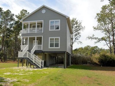 Photo for Piney Island Getaway - Water View - Water Access
