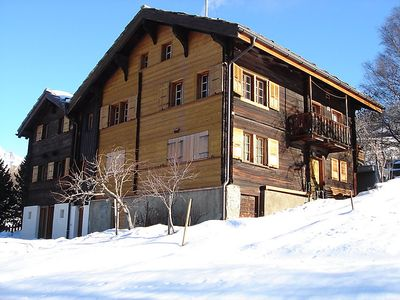 Photo for Apartment Jostbiel  in Bürchen, Valais - 5 persons, 3 bedrooms