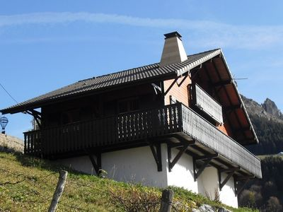 "Photo for CHALET ""Namaste"" INDEPENDENT IMPREGNABLE VIEW ON BERNEX AND ITS MOUNTAINS"