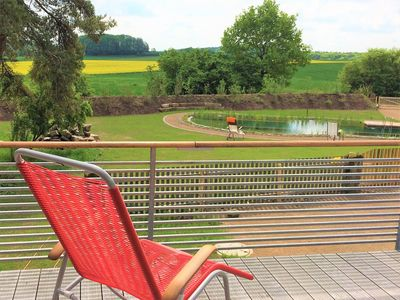 """Photo for """"Quelle"""" in Brauhaus 3 for couples / singles / friends, with fireplace and outdoor whirlpool"""
