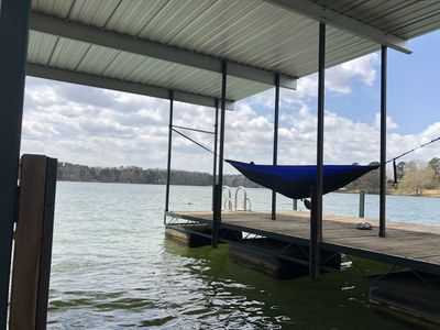 Private  Lakefront Home With a Covered Deep Water Dock
