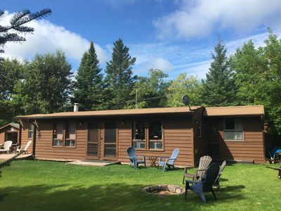 Photo for Cabin Rental On Secluded, Calm, Clear, Quiet, Gull Lake