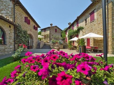 Photo for Holiday residence Country House Fonte al Noce, Gubbio-Nerbisci  in Nördliches Umbrien - 4 persons, 1 bedroom