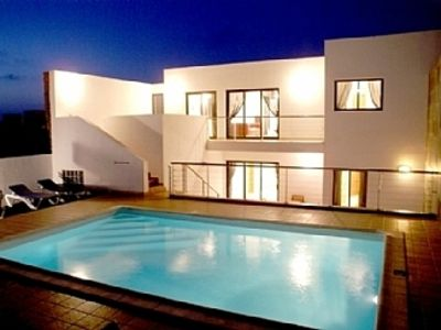 Photo for Villa with Private Heated Pool and Fabulous Sea Views across to Fuerteventura