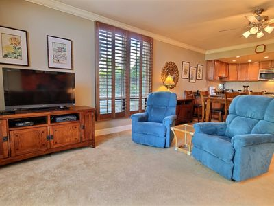 Photo for Seas the day at Hale Mahina 1 BR ground floor condo...Ocean from property **