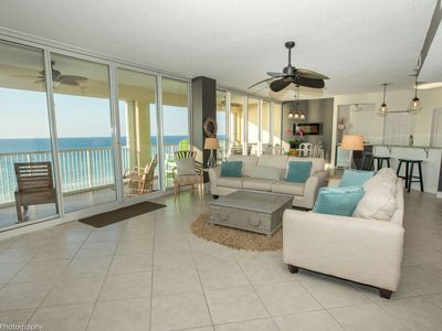 Photo for Oceania 705 - Beautiful 3 BR facing the gulf with spacious 40' balcony - sleeps 6