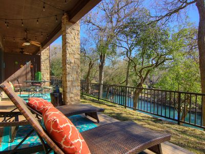 Photo for River Heaven 111.Fabulous 3 bed 2 bath! Right on the River!