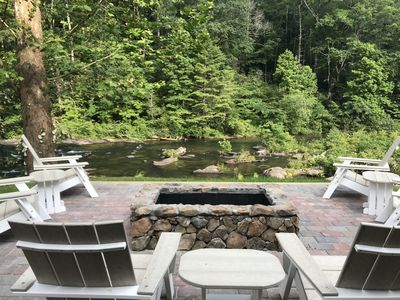Photo for Large Recently Renovated Home on the Amazing Cheoah River: 8 miles to the Dragon