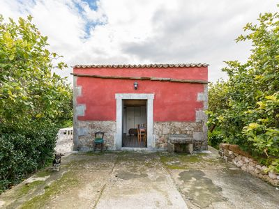 "Photo for ""Small Red house"" near Noto and Vendicari and with wifi"