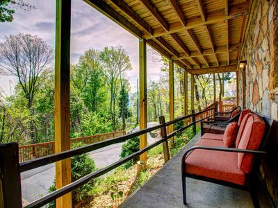 Photo for Enjoy your large group, family and the views at this Chalet Village retreat!