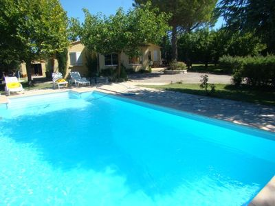 Photo for House with swimming pool and 2000m2 land in St Julien le Montagnier 83