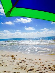 Beach view...from your chair!