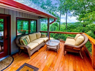 Photo for Upscale Pisgah Forest Pet Friendly Home