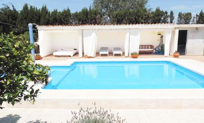 Photo for Cottage with pool 5 min beach