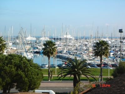 Photo for Antibes panoramic sea view modern 2,5 room apartment, by Port Vauban
