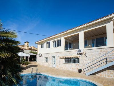 Photo for Very nice villa with a view to the sea and El Peñón de Ifach in Calpe!