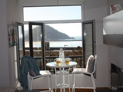 Photo for 1BR Apartment Vacation Rental in Donostia, PV