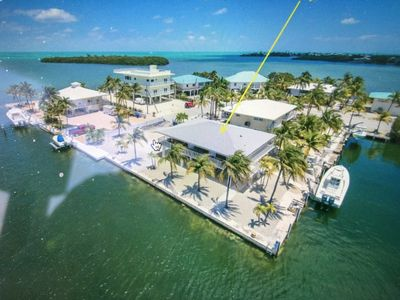Photo for Grand Opening Coconut Sunsets Open water Views, Ice ,Pool  Spa 120 ft dockage