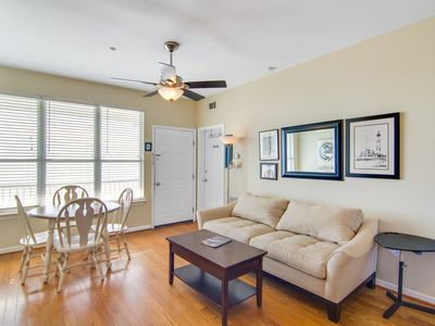 Photo for Oceanfront, third-floor condo with views & beach access - 2 dogs welcome!