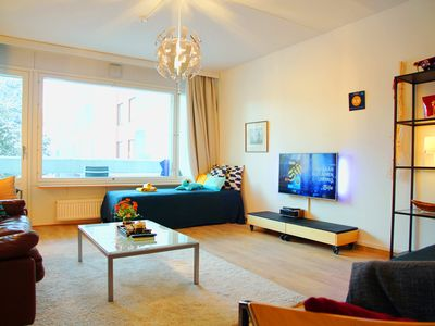 Photo for Elegant Helsinki apartment, 4 beds, 66 m2