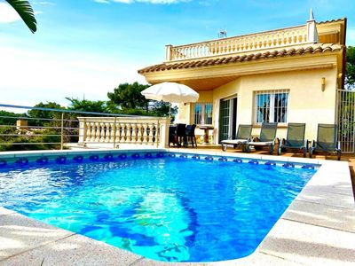 Photo for Holiday house Lloret de Mar for 8 - 10 persons with 4 bedrooms - Holiday house