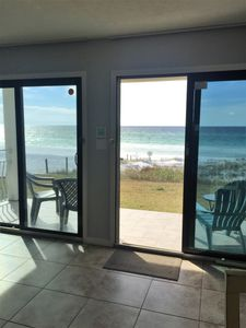 Photo for Crystal Villas - Beach Front -  Private End Condo - FREE Beach Setup Provided