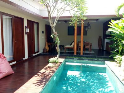 Photo for Ketut 2 Bedroom Villa, Spa + Gym, Jimbaran