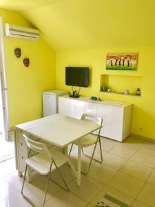 Photo for Two-room apartment for 4 people, about 150 meters from the sea and about 600 from the center, with swimming pool