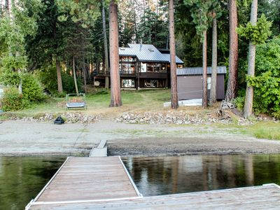 Photo for Lakeside family hideaway w/ amazing view and private dock!