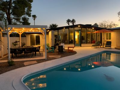 Photo for Mid Century Modern Retreat With Pool