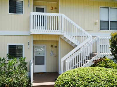 Photo for Condo #1091 is near the Golf Course and a short stroll to our beach!
