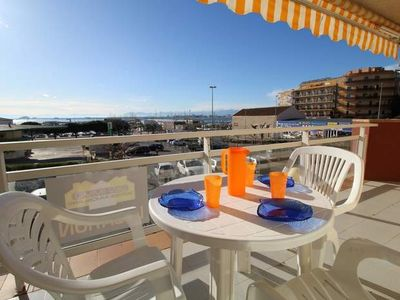 """Photo for Apartment a short walk away (366 m) from the """"Platja La Punta"""" in Roses with Lift, Terrace, Washing machine (1004419)"""