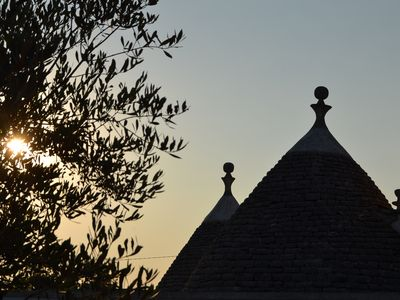 Photo for trulli in the countryside near Alberobello