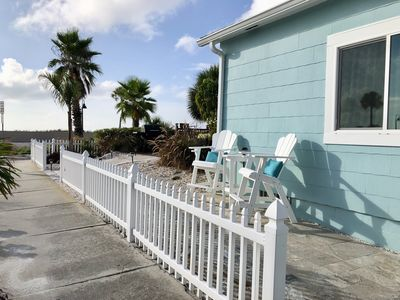 Photo for Location-Quaint  Beach Front House- Historic Pass a Grille-Steps to the beach.