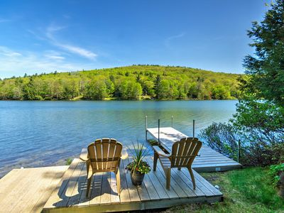 Photo for Waterfront Newbury Cottage w/Deck by Lake Sunapee!