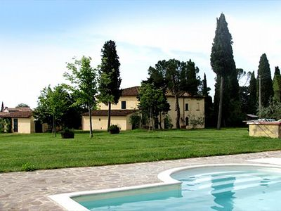 Photo for Villa Vinacciolo: A pleasant and spacious two-story villa surrounded by the greenery.