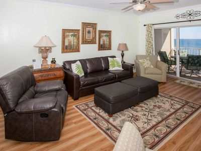 Gulf-front in low density complex | Outdoor pool, BBQ, Wifi | Free golf, fishing, OWA tickets