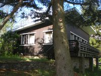 Comfortable, well equipped chalet short walk to a well-stocked epicerie in an impressive location