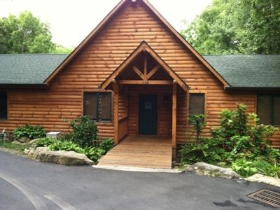 Photo for Contemporary Cabin Off the Blue Ridge Parkway