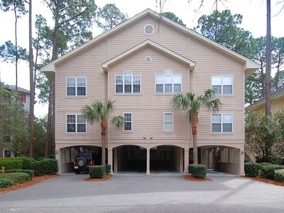 Photo for 4 bedroom, 4.5 bathroom townhome in Port Royal, 3 mins to the beach, 1 min to the pool!